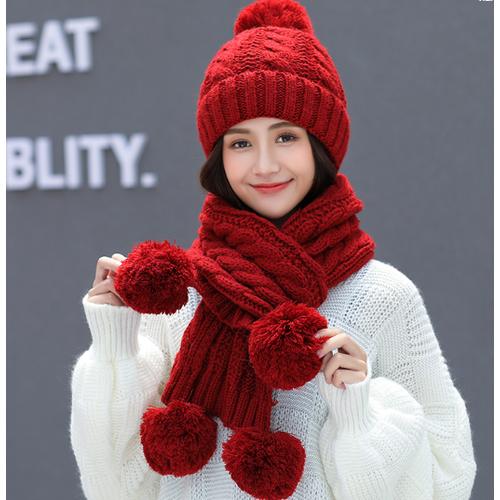 Bộ mũ len nữ quả bông kèm khăn phong cách hàn, mũ len nữ cao cấp, sét nón len nữ đẹp - 19864868 , 25030768 , 15_25030768 , 285000 , Bo-mu-len-nu-qua-bong-kem-khan-phong-cach-han-mu-len-nu-cao-cap-set-non-len-nu-dep-15_25030768 , sendo.vn , Bộ mũ len nữ quả bông kèm khăn phong cách hàn, mũ len nữ cao cấp, sét nón len nữ đẹp
