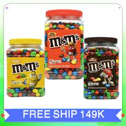 Kẹo socola sữa m&m milk chocolate pantry size socola m&m xuất xứ Mỹ 1.75kg