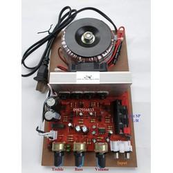Bộ khuếch đại công suất âm thanh 4 sò 200W liền nguồn xuyến, chất âm tốt
