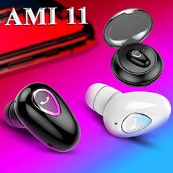 Tai Nghe Bluetouth Mini AMI11 kèm hộp sạc