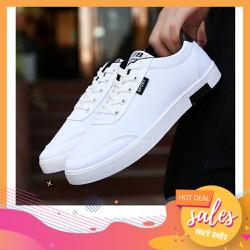 Giày thể thao nam giày nam thể thao chất liệu vải thoáng khí chống hôi chân thích hợp vận động cực êm chân SP36