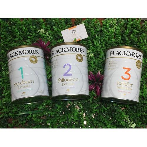 Sữa blackmore úc 900g số 2,3
