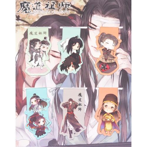 Bộ 6 tấm bookmark nam châm đánh dấu sách hình nhân vật anime hình ma đạo tổ sư [aam] [pgn25] - 19878763 , 25047501 , 15_25047501 , 39000 , Bo-6-tam-bookmark-nam-cham-danh-dau-sach-hinh-nhan-vat-anime-hinh-ma-dao-to-su-aam-pgn25-15_25047501 , sendo.vn , Bộ 6 tấm bookmark nam châm đánh dấu sách hình nhân vật anime hình ma đạo tổ sư [aam] [pgn25]