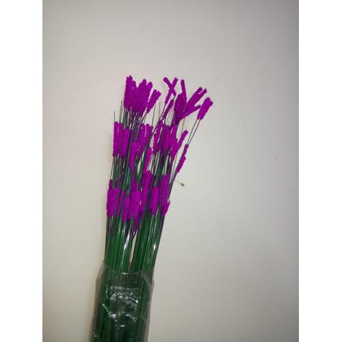 Cụm cỏ điểm hoa tím - 1 bó