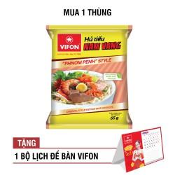 'TẶNG KÈM 1 BỘ LỊCH ĐỂ BÀN VIFON'- Thùng 30 Hủ Tiếu Nam Vang 65g Vifon