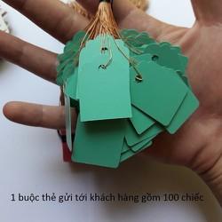 100 thẻ ghi tên lan có dây buộc tiện lượi