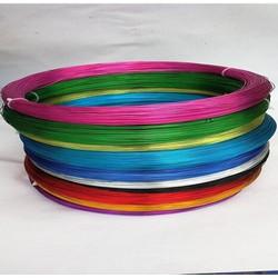 1kg Dây nhôm nhiều màu handmade size 0.8 & 1mm