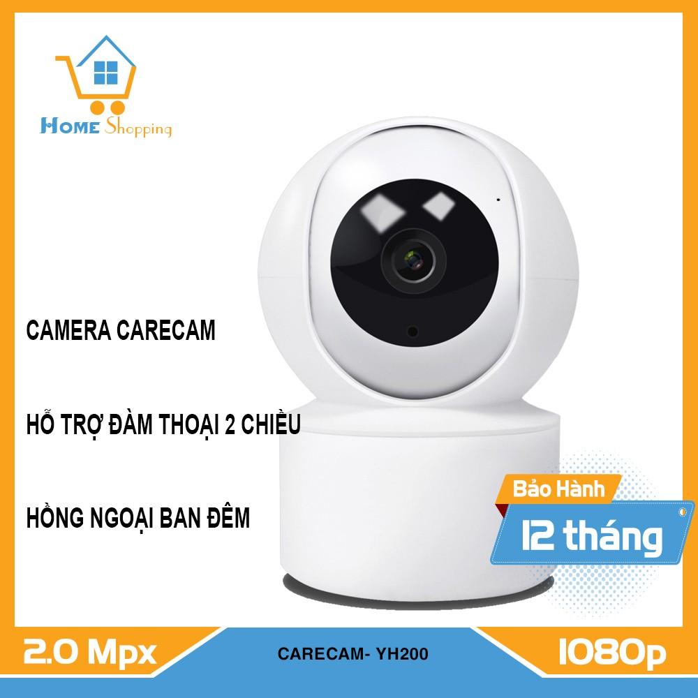 Camera Wifi- Camera  Quan Sát CareCam cc2020 - Xoay Theo Chuyển Động - Bảo Hành Chính Hãng 12 Tháng cc2020