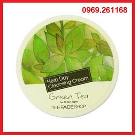 Kem tẩy trang trà xanh #The Face Shop 150ml, Hàn Quốc - Kem tẩy trang trà xanh #The Face Shop Hàn