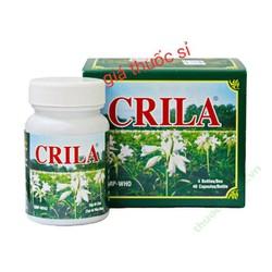 viên uống CRILA hộp 4 lọ chăm sóc sức khoẻ phụ nữ