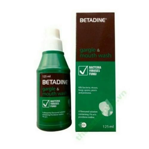 Betadine -  nước súc miệng - 19878665 , 25047397 , 15_25047397 , 58000 , Betadine-nuoc-suc-mieng-15_25047397 , sendo.vn , Betadine -  nước súc miệng