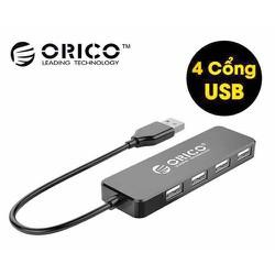 Bộ Hub chia 4 cổng USB 2.0 Orico FL01 - Hàng Chính Hãng bảo Hành 1 năm