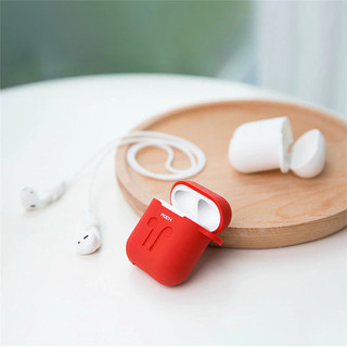 Ốp bảo vệ Airpods silicon Rock kèm dây đeo - PKQA9845 thumbnail
