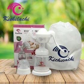 Máy hút sữa tay kichilachi Nhật tặng kèm 6 túi trữ sữa - mhstct