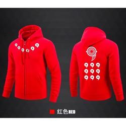 [KM Khủng] Áo khoác nỉ Naruto lục đạo màu đỏ phong cách giá siêu rẻ