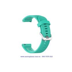 Dây cao su mềm thay thế dành cho Garmin Forerunner 245, Forerunner 245 Music, Watch Active, Gear S2 Classic, Gear Sport , Ticwatch 2, Moto 360, Garmin vivoactive 3, Samsung Galaxy Watch 42mm , Watch Active 2