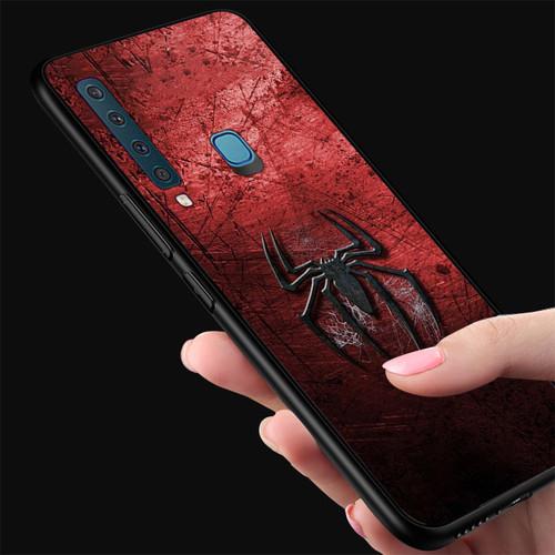 Ốp điện thoại dành cho máy samsung galaxy a9  -  a9pro - logo nhện ms abtha003