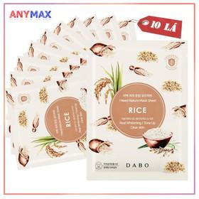 Mặt nạ dưỡng trắng da Dabo Natural 23ml - MNDTDB23G
