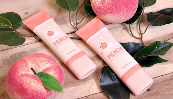 Kết quả hình ảnh cho kem dưỡng trắng da coringco peach whipping tone up cream