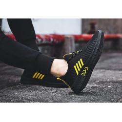 Giày thể thao nam màu đen vàng cực chất ảnh thật