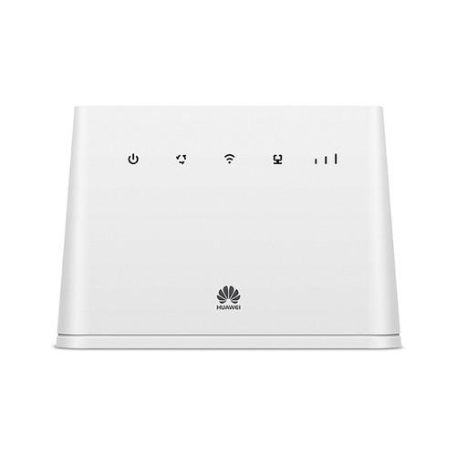 Bộ router phát wifi 4g từ sim huawel b311as dành cho xe 32 user có wan.lan kèm anten