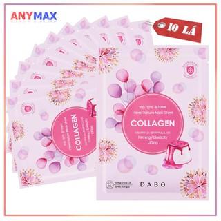 Mặt nạ dươ ng da Dabo Collagen Natura 23g ( 10 Miê ng ) - MNDBCLG thumbnail