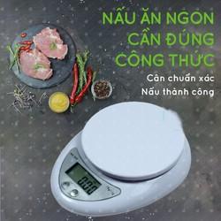 Cân điện tử nhà bếp mini 5kg - cân thực phẩm