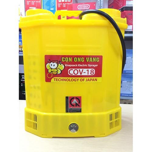 Bình xịt điện con ong vàng cov 18 - bình xịt điện cov 18d