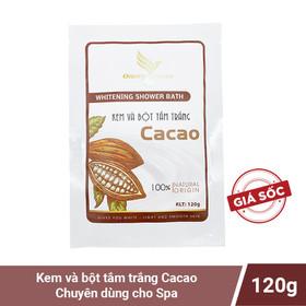 Kem và bột tắm trắng cacao Onemy chuẩn spa 120g - onemy-cacaott