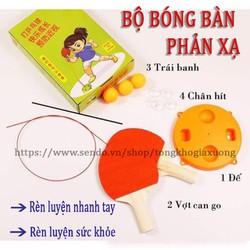 Bộ đồ chơi bóng bàn phản xạ cho bé tongkhogiaxuong