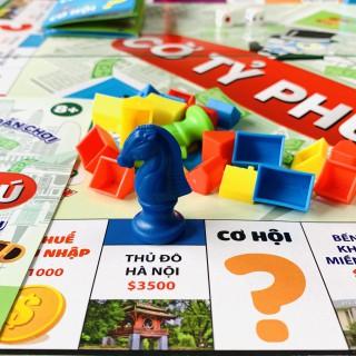 Đồ Chơi Bàn Cờ Tỷ Phú Monopoly Bé Học Làm Giàu Kích Thước 42x42 cm [ĐƯỢC KIỂM HÀNG] 25102701 - 25102701 thumbnail