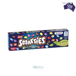 Kẹo Socola Sữa Vỏ Giòn Smarties HIỆUNestle HỘP 50G