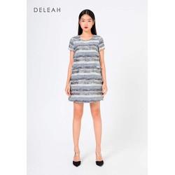 De Leah -  Đầm suông tweed tua rua- Thời Trang Thiết Kế
