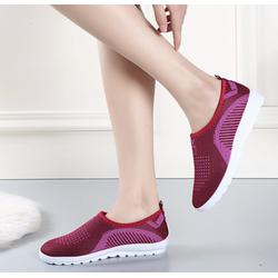 MIỄN PHÍ VẬN CHUYỂN 10K - Giày Sneaker Thể Thao nữ đế mền mang rất êm chân mẫu mới hiện nay màu Hồng