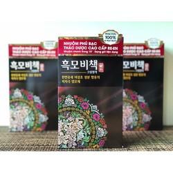 Hàn Quốc - thuốc nhuộm tóc thảo dược cao cấp Reen phủ bạc