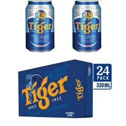 Bia Tiger Thùng 24lon