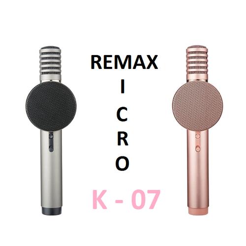 Micro hát karaoke không dây thông minh remax k07 hỗ trợ trí tuệ nhân tạo - 19935191 , 25114339 , 15_25114339 , 699000 , Micro-hat-karaoke-khong-day-thong-minh-remax-k07-ho-tro-tri-tue-nhan-tao-15_25114339 , sendo.vn , Micro hát karaoke không dây thông minh remax k07 hỗ trợ trí tuệ nhân tạo