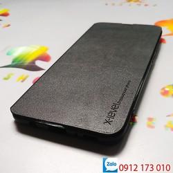Bao da Samsung Galaxy S8 SM-G950 nắp gập 2 mặt bảo vệ điện thoại - Ốp lưng 2 mặt Samsung S8 chất liệu da cao cấp - Bao Fib - Xlevel