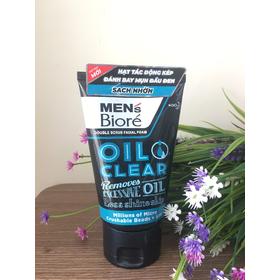 Sữa rửa mặt Men's Biore sạch nhờn - sạch nhờn