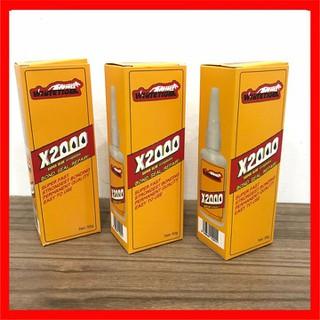 Keo dán đa năng siêu dính X2000 dán được mọi vật liệu gỗ, sứ, thủy tinh, kim loại ... - H08 thumbnail