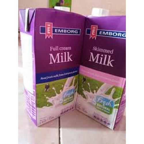 Combo 6 chai sữa tươi nguyên chất tiệt trùng nguyên kem không đường emborg 1l - 19941242 , 25121732 , 15_25121732 , 258000 , Combo-6-chai-sua-tuoi-nguyen-chat-tiet-trung-nguyen-kem-khong-duong-emborg-1l-15_25121732 , sendo.vn , Combo 6 chai sữa tươi nguyên chất tiệt trùng nguyên kem không đường emborg 1l