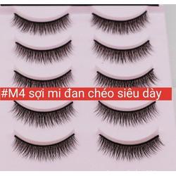 Lông mi giả, lông mi chồn tự nhiên/ eyelashes- M4