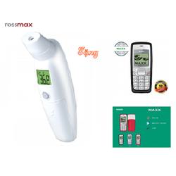 Nhiệt kế đo trán Rossmax HA500 Hàng chính hãng Tặng điện thoại Maxx N1110