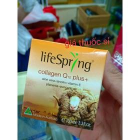 Kem Nhau Thai Cừu LIFESPRING CollagenQ10 plus - giathuocsi622