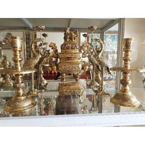 Bộ lư hương đỉnh đồng vàng vuông 54 - 19923657 , 25101002 , 15_25101002 , 5810000 , Bo-lu-huong-dinh-dong-vang-vuong-54-15_25101002 , sendo.vn , Bộ lư hương đỉnh đồng vàng vuông 54