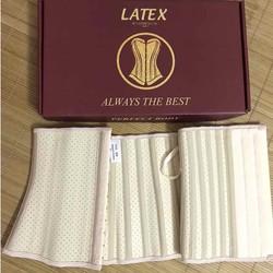 Gen nịt bụng giảm eo latex thông hơi 25 xương dài 24cm và 29cm Hi lạp