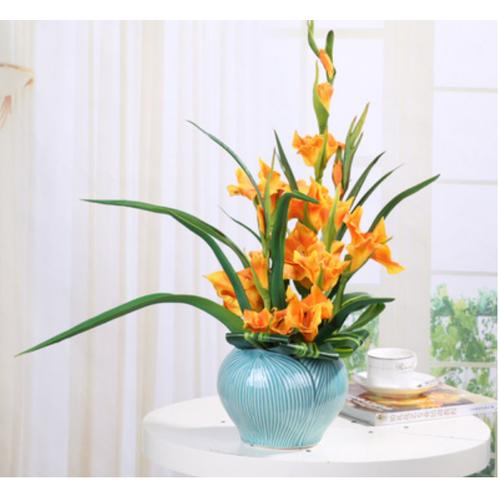 Bình hoa lay ơn giả trang trí nội thất phòng khách sang trọng - 19957893 , 25140984 , 15_25140984 , 2100000 , Binh-hoa-lay-on-gia-trang-tri-noi-that-phong-khach-sang-trong-15_25140984 , sendo.vn , Bình hoa lay ơn giả trang trí nội thất phòng khách sang trọng