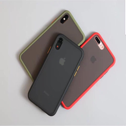 Ốp Lưng Iphone Lưng Nhám Chống Vân Tay
