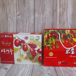 [QUÀ TẶNG VOCHER 10K - APP ] Táo đỏ Hàn Quốc Boeun Jujube Hộp 1 KG - TAOHANQUOC- TÁO SẤY - boeun jujube samsung TÁO Táo đỏ