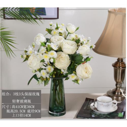 Bình hoa hồng giả trang trí nội thất phòng khách sang trọng - 19950209 , 25132359 , 15_25132359 , 1580000 , Binh-hoa-hong-gia-trang-tri-noi-that-phong-khach-sang-trong-15_25132359 , sendo.vn , Bình hoa hồng giả trang trí nội thất phòng khách sang trọng